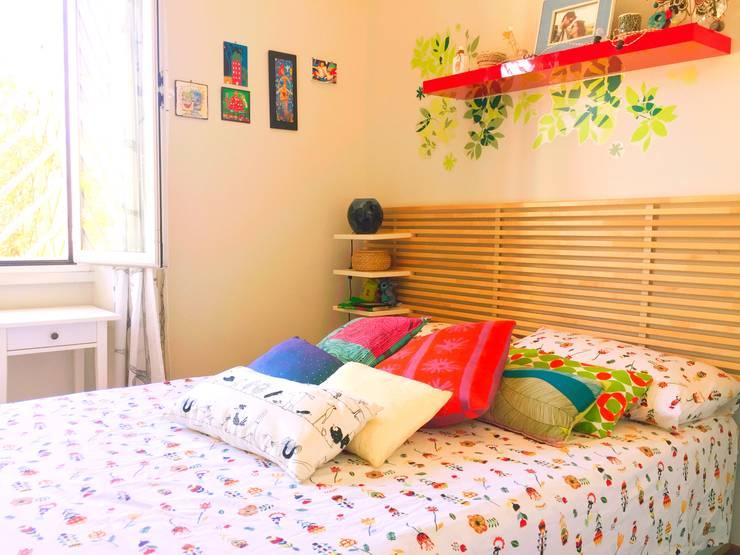 غرفة نوم تنفيذ Giacomo Zanelli - Architetto