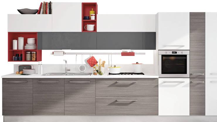 Modelo cozinha  Swing: Cozinha  por area design interiores
