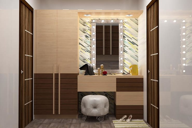 Project 1: modern Dressing room by Al Hashro Interiors