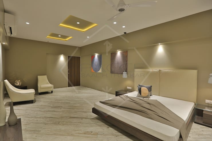 EXPRESSION:  Bedroom by SPACCE INTERIORS