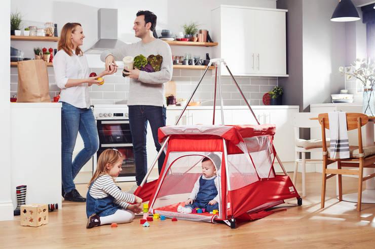 BabyHub SleepSpace Multi-use travel cot and tepee:  Nursery/kid's room by Babyhub Ltd