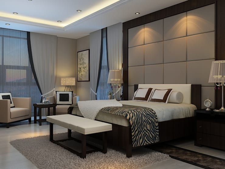 JC Residence:  Kamar Tidur by EquiL Interior