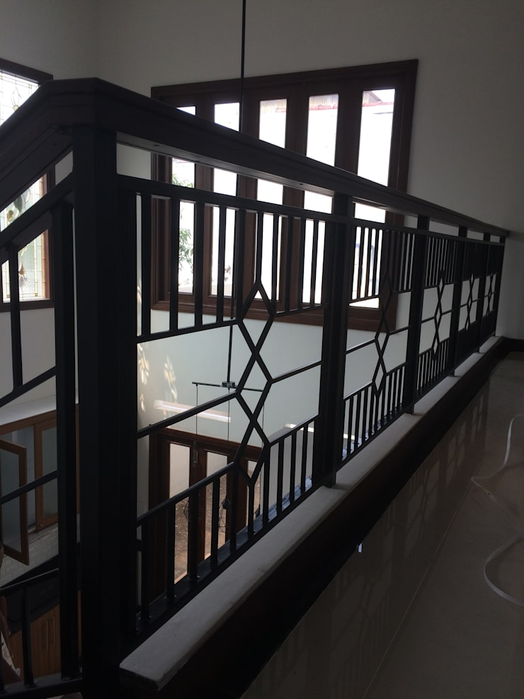 Detail Railing:  Tangga by Kahuripan Architect