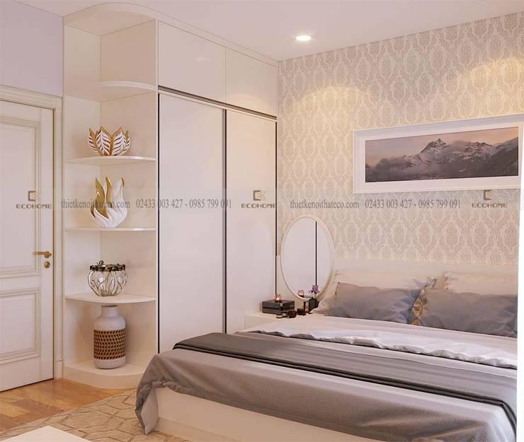 Nội thất phòng ngủ master:  Phòng ngủ by Công Ty TNHH Xây Dựng & Nội Thất ECO Việt Nam