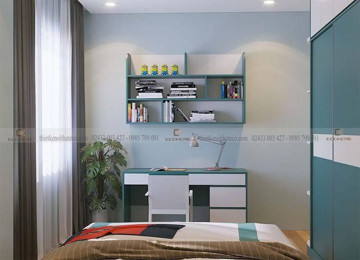 Thiết kế nội thất phòng ngủ :  Phòng ngủ by Công Ty TNHH Xây Dựng & Nội Thất ECO Việt Nam