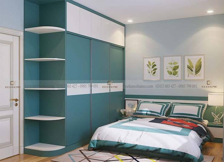 Mẫu phòng ngủ đẹp:  Phòng ngủ by Công Ty TNHH Xây Dựng & Nội Thất ECO Việt Nam