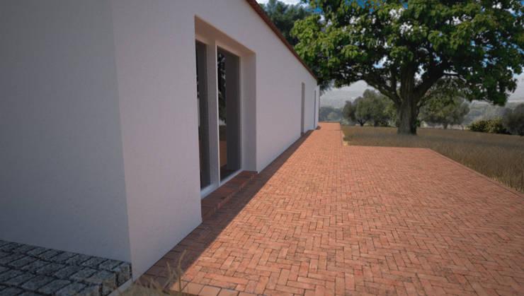 Terraços a Poente: Casas de campo  por André Pintão