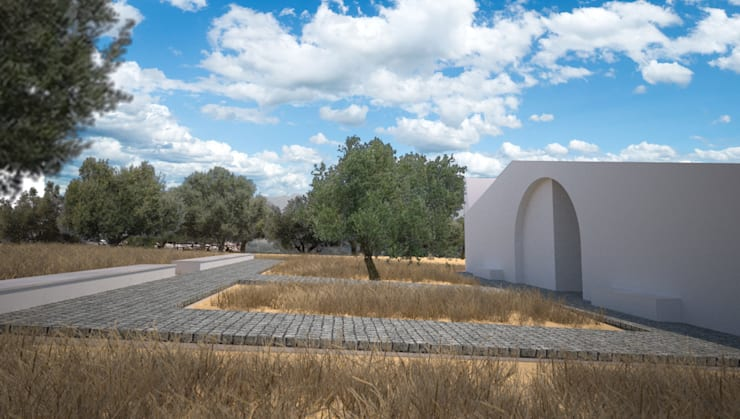 Monte da Dourada: Casas de campo  por André Pintão
