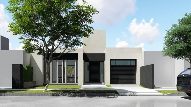 Casas de estilo  por ARBOL Arquitectos