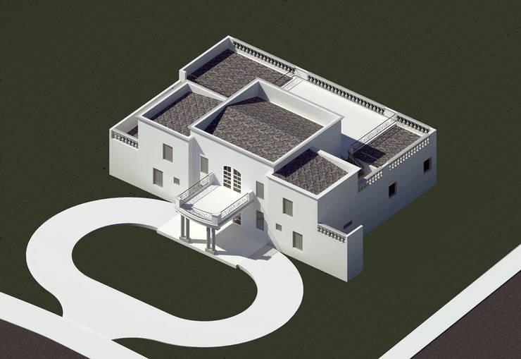 Modelo 3D: Parcelas de agrado de estilo  por BIM Urbano