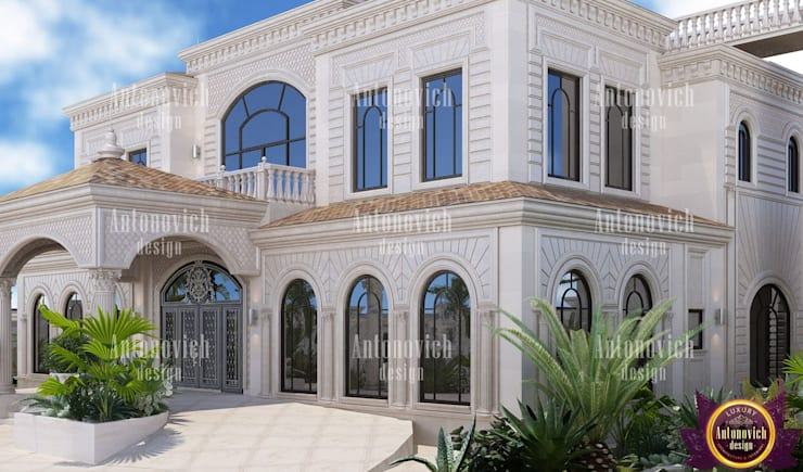 ​Beautiful Architectural project from Katrina Antonovich:  Houses by Luxury Antonovich Design