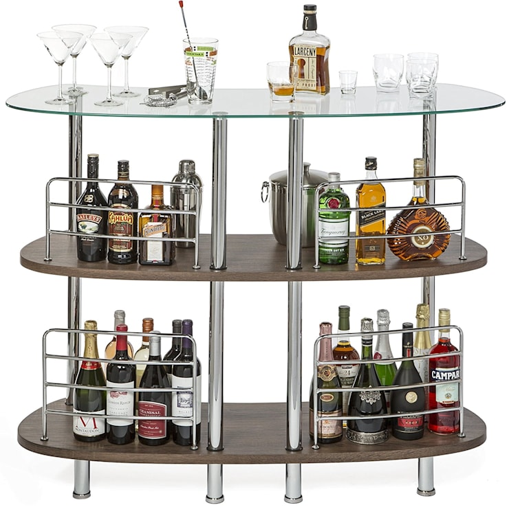 WINSOME MARTINI ENTERTAINMENT BAR:  Wine cellar by Perfect Home Bars