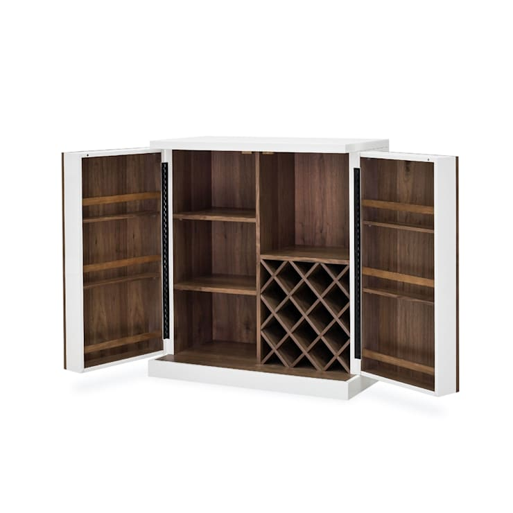 FOUR HANDS TUCKER BAR CABINET:  Wine cellar by Perfect Home Bars