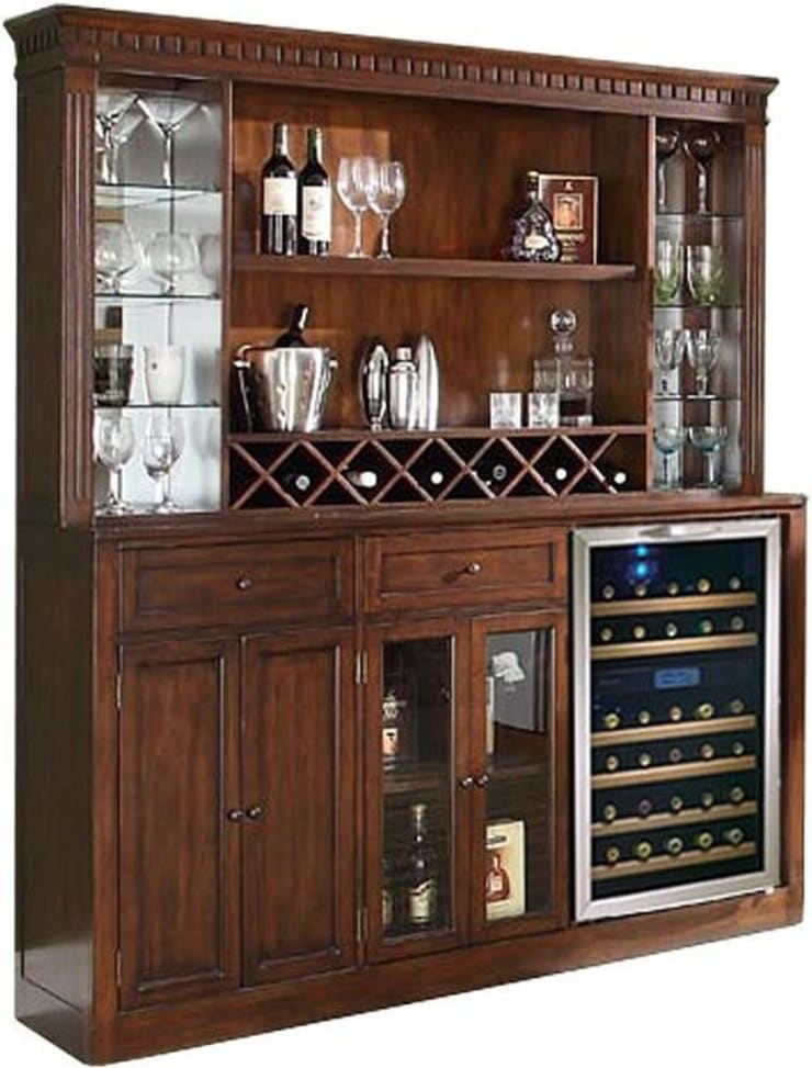 Proudly Show case Your Wine Collection with Wine Bar and Wine Baskets:  Kitchen by Perfect Home Bars