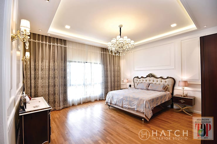 Bedroom by Hatch Interior Studio Sdn Bhd