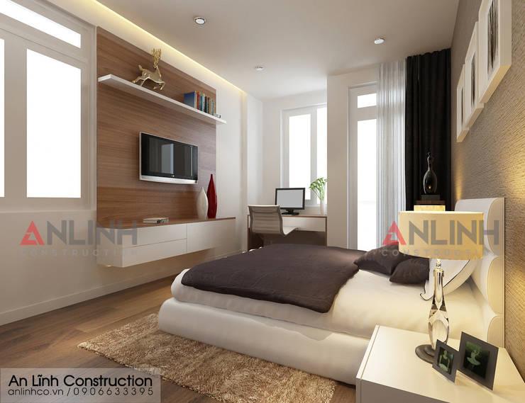 AN LĨNH CONSTRUCTION xây nhà phố tại quận 7:   by CÔNG TY THIẾT KẾ XÂY DỰNG AN LĨNH