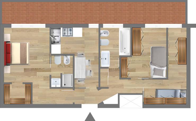 Planimetria casa di 60 mq consigli e idee for Casa moderna 60 mq