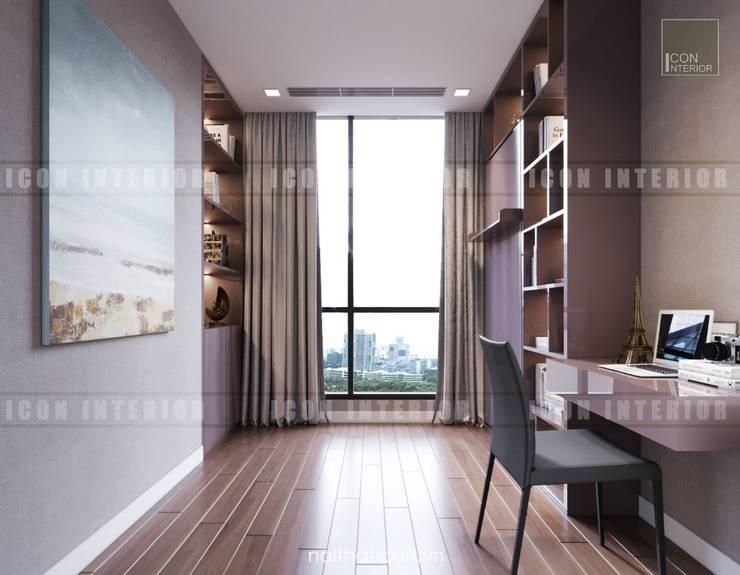 Nội thất Châu Âu hiện đại trong căn hộ Vinhomes Central Park:  Phòng trẻ em by ICON INTERIOR