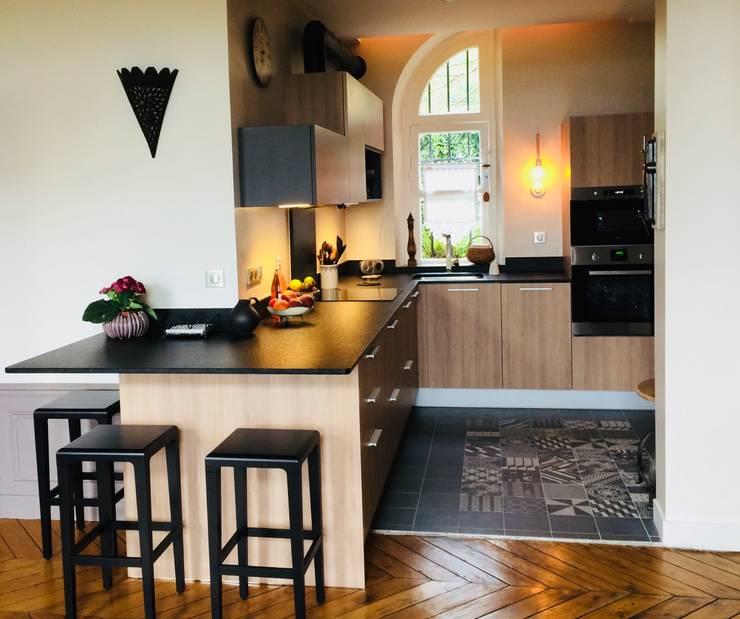 Cocinas integrales de estilo  de HOME feeling