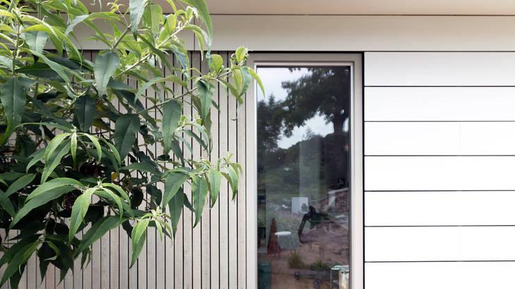 geveldetail:  Eengezinswoning door STAAG architecten