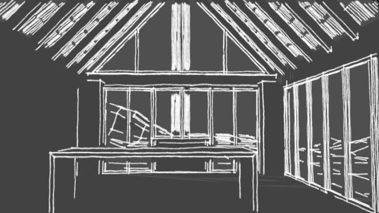 Interior:  de estilo  por ATELIER HABITAR