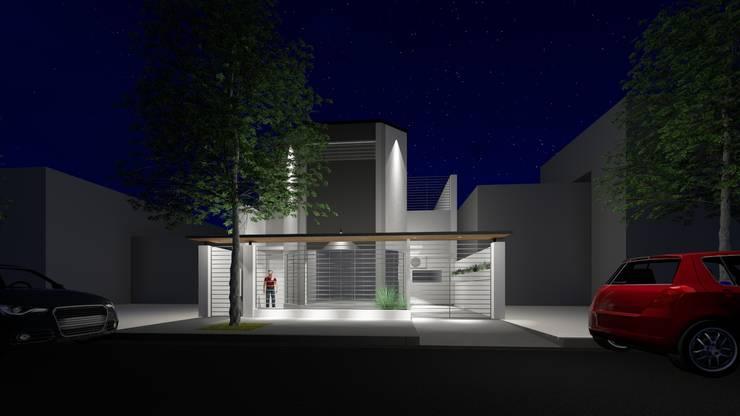 Remodelación vivienda en Belgrano, CABA: Casas unifamiliares de estilo  por Inca Arquitectura,