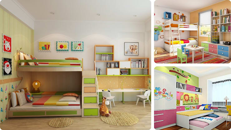 Phòng ngủ dành cho bé trong gia đình:   by Picomat Sài Gòn