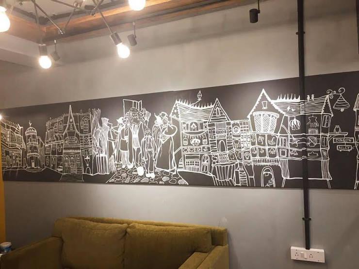 Harry Potter themed Wall Art: modern  by ARTickle Design,Modern