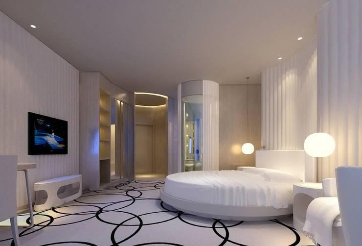 Interior Designing Company in Delhi,:  Bedroom by Sense Interiors ,Classic