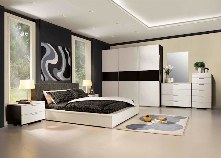 modern Bedroom by The Interia
