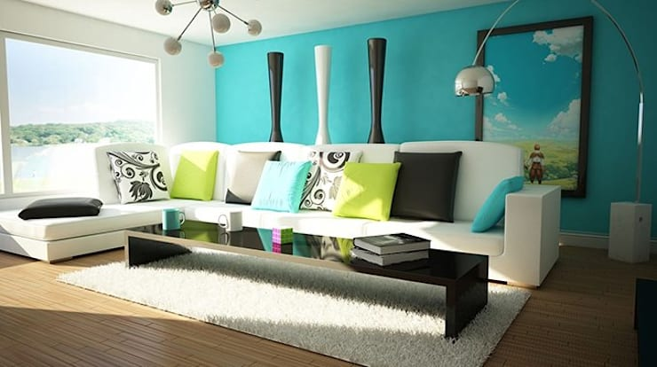 modern Living room by The Interia