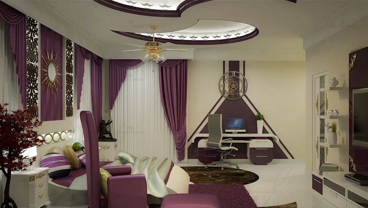 Home Interior Design Ideas:  Living room by Monnaie Interiors Pvt Ltd,Asian