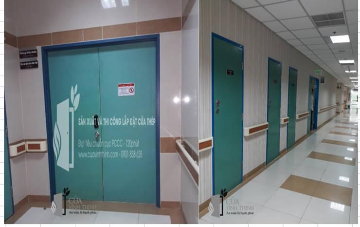 cửa thép chống cháy:  Spa by Vĩnh Thịnh