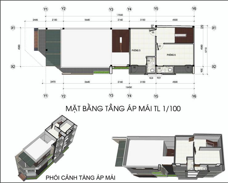 Nhà Chị Phương – Bình Thạnh:   by D.H.T Architects