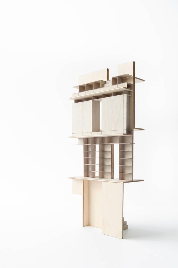 Huis Jordaan - Maquette:   door Unknown Architects