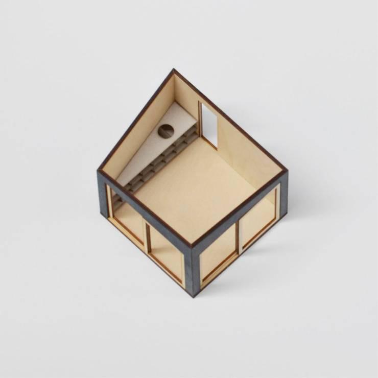 Tuinhuis - Maquette interieur:   door Unknown Architects