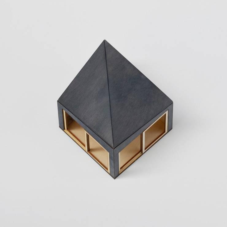 Tuinhuis - Maquette exterieur:   door Unknown Architects
