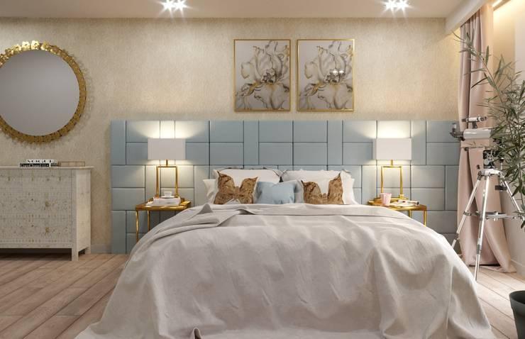 غرفة نوم تنفيذ Fibi Interiors
