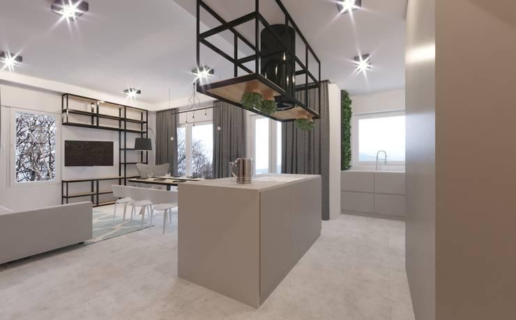 Kitchen:  Kitchen by Fibi Interiors