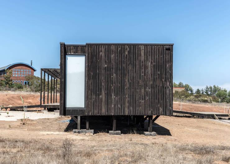 casa tunquen: Casas de estilo  por GZ Fotografia