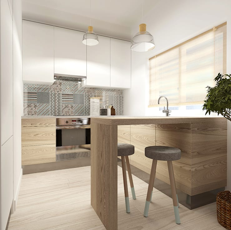 Casa da Rute: Cozinhas  por Homestories
