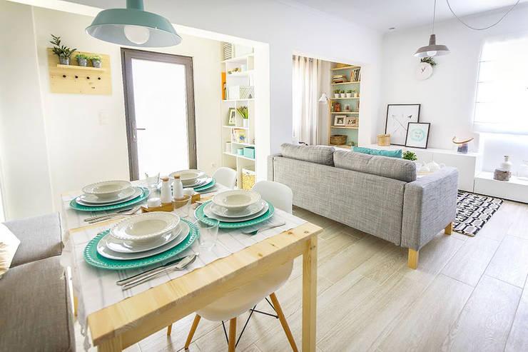 Querido mudei a casa episódio#2402: Salas de jantar  por Homestories