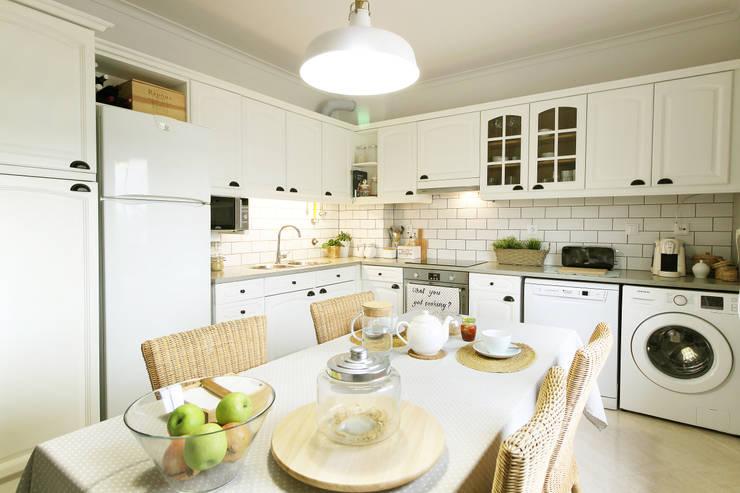 Cozinha da Maria: Cozinhas  por Homestories
