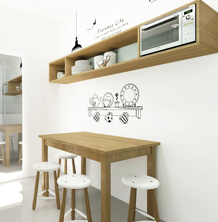 Casa da Susana: Cozinhas  por Homestories