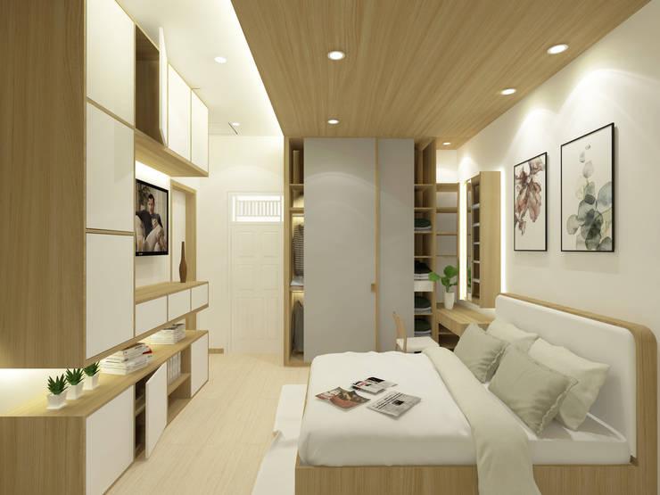 Mr.Adrian's Bedroom Design:  Kamar Tidur by SEKALA Studio