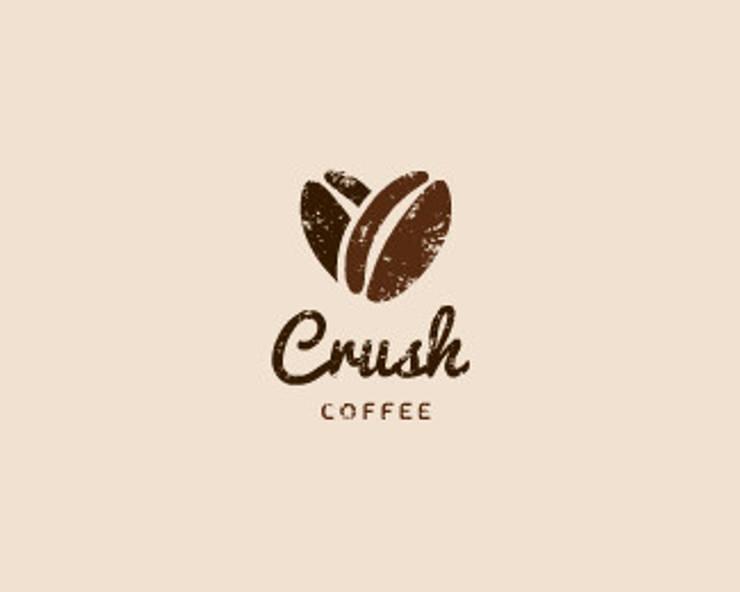 Crush Coffee:   by Thiết Kế Logo Đẹp