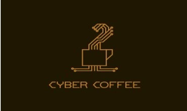 cyber coffee:   by Thiết Kế Logo Đẹp