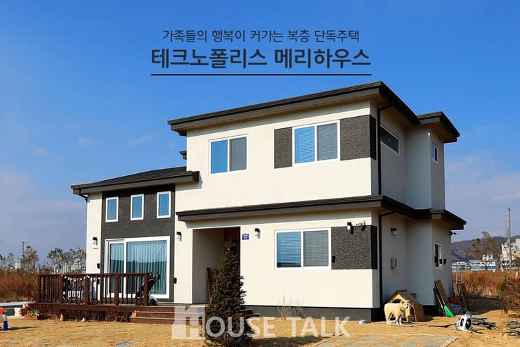 주택외관: 하우스톡의  주택