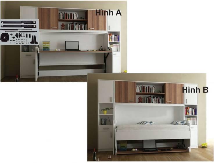 Giường ngủ thông minh:  Phòng ngủ by Công ty CP Đầu tư & Thương mại Tân Kỷ Nguyên