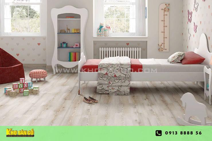 Các mẫu sàn gỗ:  Phòng trẻ em by Kho Sàn Gỗ
